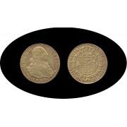 España Spain 8 Escudos 1798 Carlos Carol IIII P JF Popayan gold