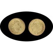 España Spain 8 Escudos 1793  Carol Carlos IIII NR JJ Nuevo Reino Oro gold Au