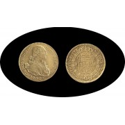 España Spain 8 Escudos 1802 Carlos Carol IIII Popayan P JF Oro Gold Au