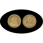 España Spain 8 Escudos 1775 Carlos Carol III Sevilla CF Oro Gold Au