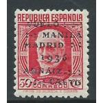 España Spain  741 1936 Vuelo Manila - Madrid MH