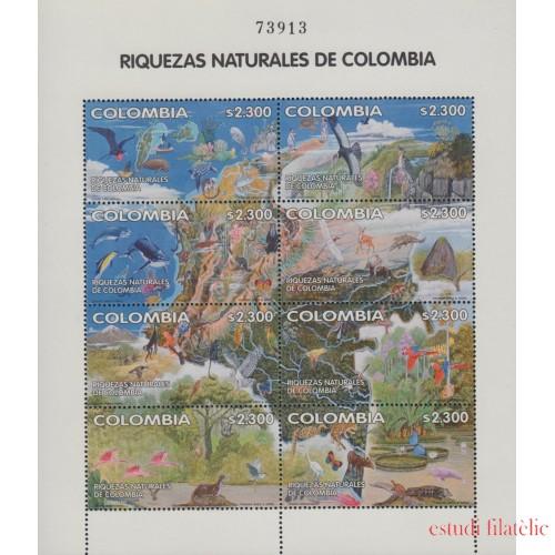 Colombia 1157/64 2002 Riquezas naturales de Colombia MNH