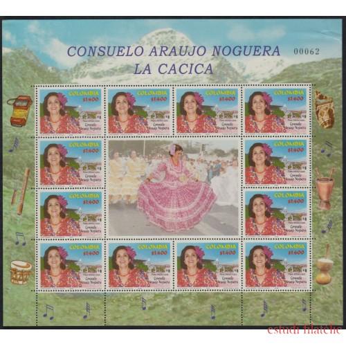 Colombia MP 1176 2002 1° Año de la Muerte de Consuelo Araujo Noguera MNH