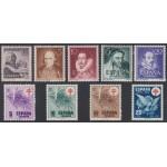 España Año Completo Year Complete 1950 ( sin 1075/82, 1083, 1083A/B ) MNH