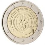 Bélgica 2015 2 € euros conmemorativos 2015 Año Europeo del Desarrollo