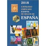 CATÁLOGO CATALOG UNIFICADO EDIFIL 2018 SELLOS DE ESPAÑA