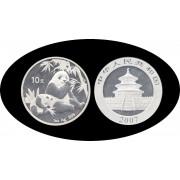 China onza de plata 2007 Oso Panda Sylver Ag
