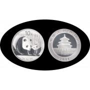 China onza de plata 2011 Oso Panda Sylver Ag