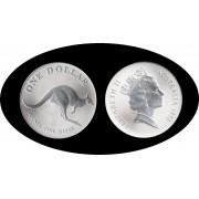 Australia 1993 1 onza de plata 1$