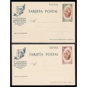 España Spain Entero Postal ( tarjeta ) 88/89 1960 CIF Nuevo Barco Boat