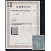 España Spain NE 2 1865 Isabel II No Emitido MH