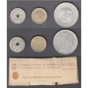 II Exposición Nacional Numimática E-51  SC Cartón Numerado 1947