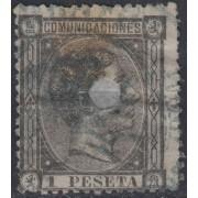 España Spain Telégrafos 169T 1875 Usado