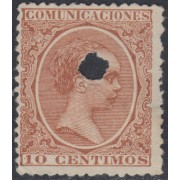 España Spain Telégrafos 217T 1889/99 MH