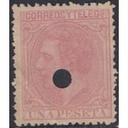 España Spain Telégrafos 207T 1879 MH