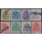 España Spain Telégrafos 47/54 1912 Alfonso XIII Usado