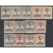 España Spain 297/309 1920 UPU MNH