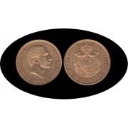 España Spain 25 ptas 1882 Alfonso XII oro Au