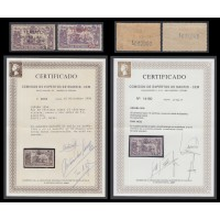 España Spain NE 32/33 1938 No Emitido Toma de Teruel Cert CEM 50 series emitidas