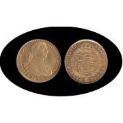 España Spain 8 escudos 1811 Mexico HJ Fernando VII gold