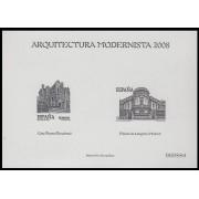 España Spain Prueba de lujo 98a 2009 Arquitectura Modernista