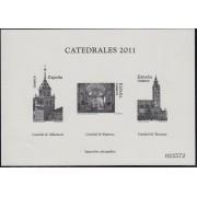 España Spain Prueba de lujo 106a 2011 Catedrales