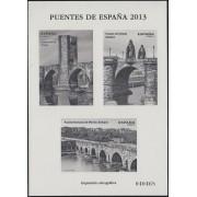 España Spain Prueba de lujo 114a 2013  Puentes de España