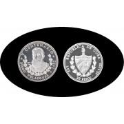 Cuba 30 pesos 1991 3 onzas Diego Velázquez plata silver