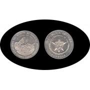Cuba 20 pesos 1988 2 onzas XXXV Aniv. del Asalto al Cuartel Moncada plata silver