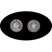 Cuba 10 pesos 1989 1 onza Ernesto Che Guevara plata silver