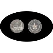 Cuba 10 pesos 1988 1 onza 160º  Aniv. del 1er Ferrocarril del Mundo plata silver