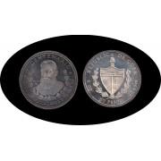 Cuba 50 pesos 1991 5 onzas Diego Velázquez plata silver