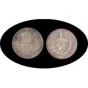 Cuba 50 pesos 1990 5 onzas V Centenario Fernandus plata silver