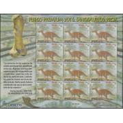 España Pliego Premium 36 2016 Dinosaurios Proa MNH