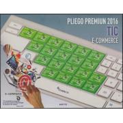 España Pliego Premium 37 2016 Tic E- Commerce MNH