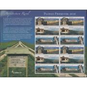 España Pliego Premium 40 2016 Arquitectura Rural MNH