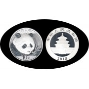 China onza de plata 2018 Oso Panda Sylver Ag