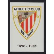 España Tarjetas del Correo y de Iniciativa Privada 36 1998 Cent. Athletic de Bil