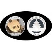 China onza de plata 2018 Oso Panda Sylver Ag Dorada