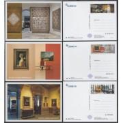 España Tarjetas del Correo y de Iniciativa Privada 101/03 2015 Museos