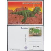 España Tarjetas del Correo y de Iniciativa Privada 105 2015 Dinosaurios