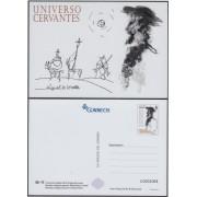 España Tarjetas del Correo y de Iniciativa Privada 108 2016 Don Quijote