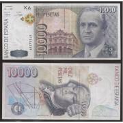 España Billete 10000 Pesetas  12 10 1992 Serie A  EBC