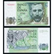 España Billete 1000 Ptas 23 10 1979 Sin Serie SC-