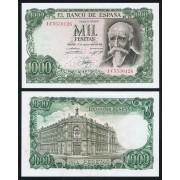 España Billete 1000 Ptas 17 09 1971  EBC+