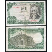 España Billete 1000 Ptas 17 09 1971  MBC