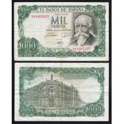España Billete 1000 Ptas 17 09 1971 Serie 9A  MBC