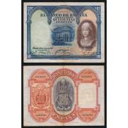 España Billete  500 Pesetas  24 7 1927  Sin Serie  MBC-