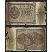 España Billete 1000 Pesetas  21 11 1936  Serie B  RC