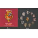España Spain 2018 Cartera Oficial Euros + 2€ +2€ Felipe VI y Compostela